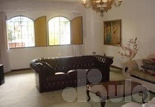 Bela Casa Térrea Em Região Nobre De Santo André - 1033-7780