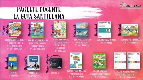 Imagen 1 de 1 de Paquete Docente Guía Santillana 1º Primaria 2020 - 2021