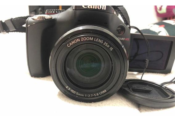 Câmera Cânon Semi Profissional