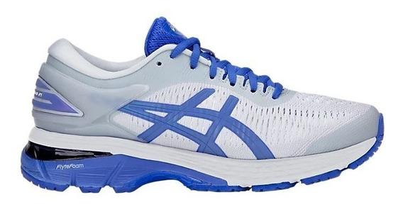 Zapatillas Asics Gel Kayano 25 Gris/azul Ls Mujer Running