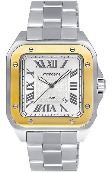 Relógio Masculino Mondaine 78624gomvna1 Aço