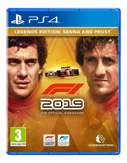 Jogo Novo Midia Fisica F1 2019 Legends Edition Para Ps4
