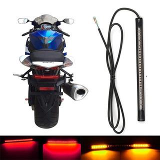 Led Moto | Lanterna Freio Seta Integrado | Custom Bobber