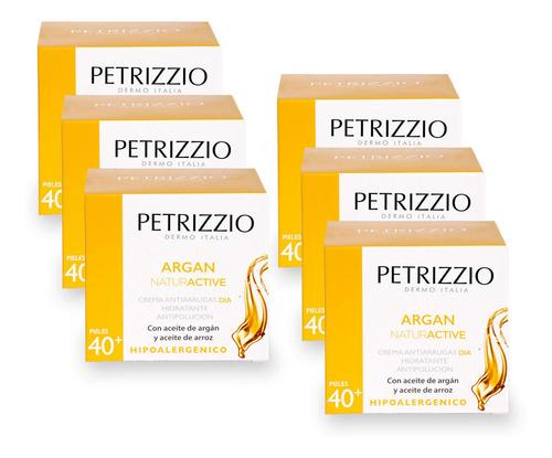 Crema Naturactive Argan 40+ Petrizzio Pack 6