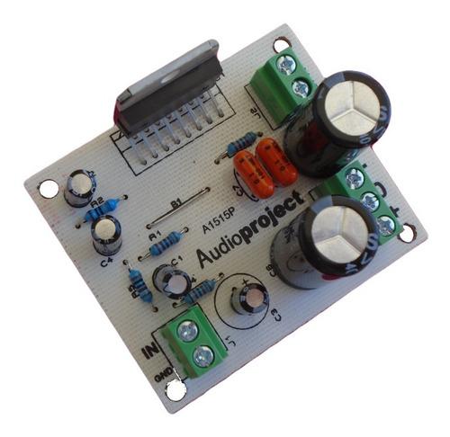 Modulo Amplificador 60 W Reales Rms C/ Tda7296 Audioproject