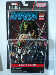 Marvel Legends Comic Pack Gamora & Star-lord #1