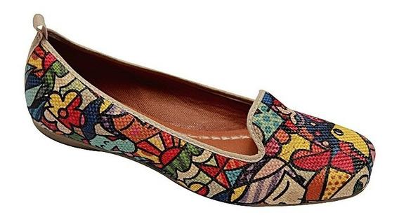 Kit Com 2 Sapato Sapatilha Alpargatas Feminina