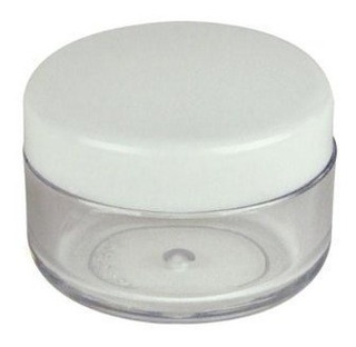 Plástico Transpatent 15g Muestra Frascos De Contenedores Vac