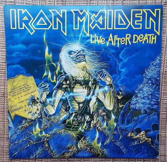 Lp Iron Maiden - Live After Death / Disco Duplo
