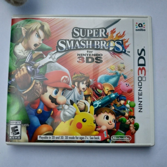 Super Smash Bros. 3ds Semi Novo