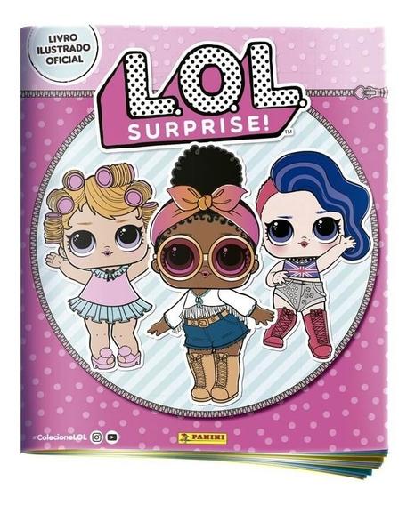 Album De Figurinhas Lol Surprise Serie 1 Capa Mole Panini