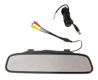 Espejo Retrovisor Pantalla Monitor 4,3 Para Auto 12v
