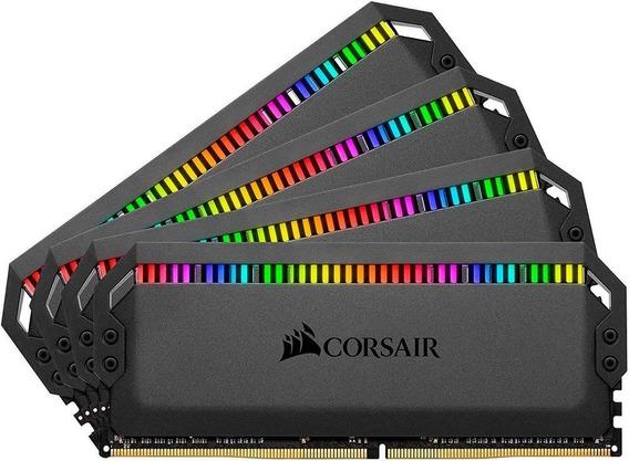 Memoria Corsair Dominator Platinum Rgb 64gb 3200mhz 4x16gb