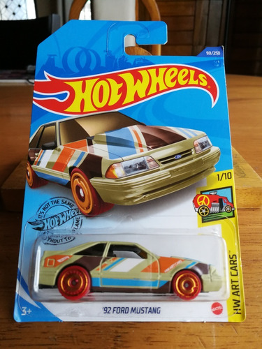Hot Wheels 92 Ford Mustang