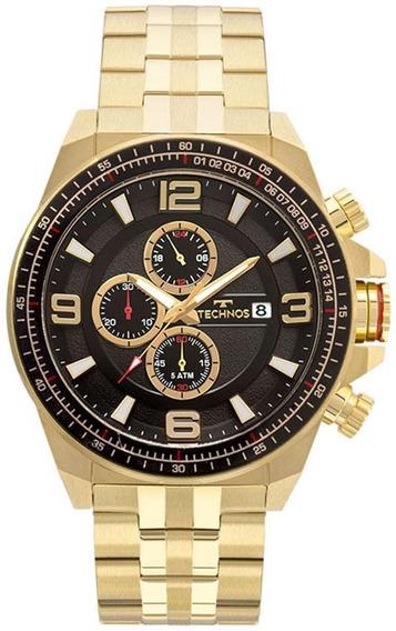 Relógio Technos Masculino Cronógrafo Performance Skymaster Js15fc/4p