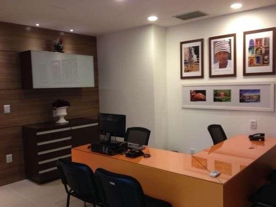 Sala Comercial Mobiliada, 114m², Locação - Salvador Shopping Business - Sa0105