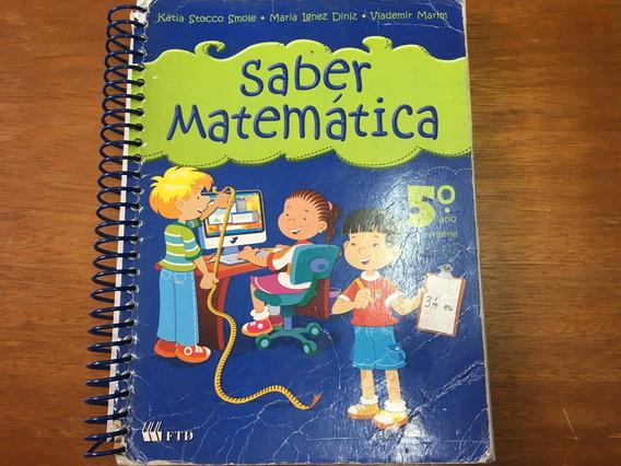 Saber Matemática - 5º Ano - Ensino Fundamental I Frete R$ 16