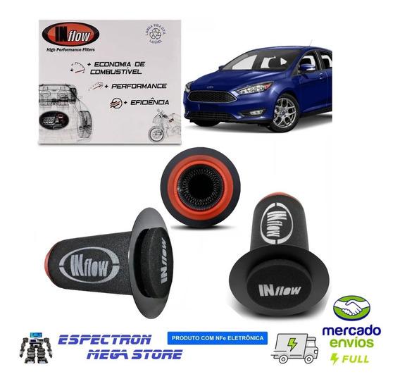 Filtros De Ar Inflow Novo Ford Focus 2.0 09 Á 2019 Hpf2901