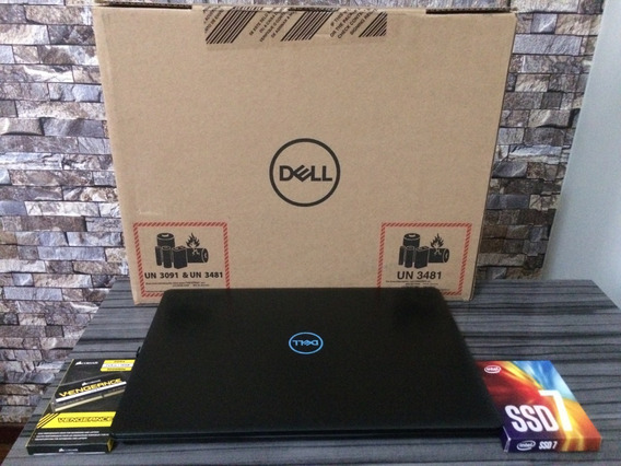 Notebook Dell G3 Gamer, I7-8th, 16gb, Ssd 512gb, Hd1tb Top