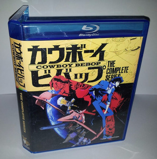 Cowboy Bebop Serie Completa + Pelicula - Bluray Box