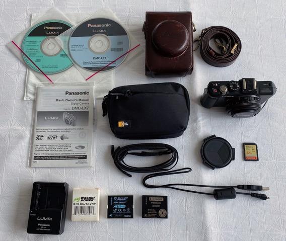 Câmera Panasonic Lumix Dmc-lx7 - R$1399 À Vista