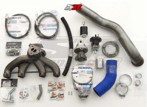 Kit Turbo Vw Ap Carburado 8v Pulsativo No Farol Beep Turbo
