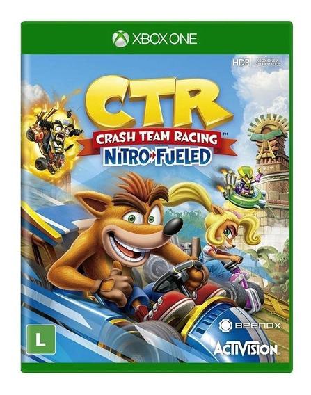 Crash Team Racing Nitro Fueled Xbox One Mídia Física