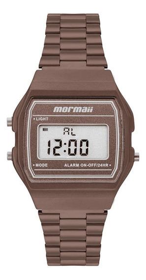 Relógio Mormaii Unissex Vintage Marrom Mojh02bj/8m