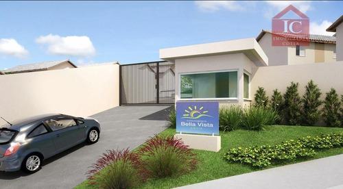 Casa Com 2 Dormitórios À Venda, 54 M² Por R$ 185.000,00 - Recanto Arco Verde - Cotia/sp - Ca1172