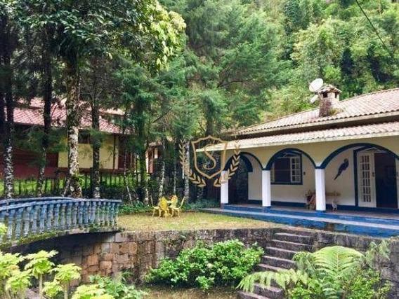 Casa Com 3 Dormitórios À Venda, 170 M² Por R$ 550.000,00 - Comary - Teresópolis/rj - Ca0167
