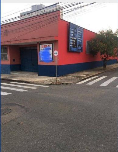 Imagem 1 de 6 de Salão Para Alugar, 265 M² Por R$ 6.000/mês - Centro - Indaiatuba/sp - Sl0256