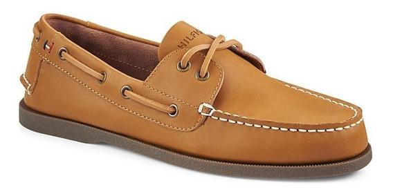 Zapato Tommy Hilfiger Mod. 315188 Bowman Castano Hombre / H