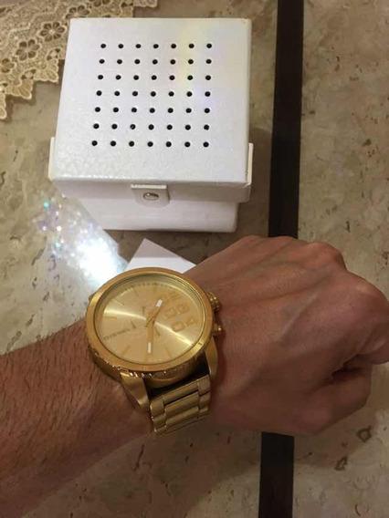 Relógio Diesel Dourado Dz4268