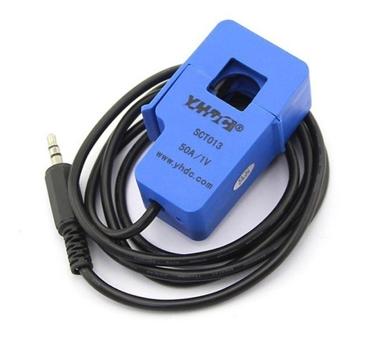 Sensor De Corriente 50a Sct013 Hall Pinza Arduino Nubbeo