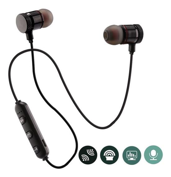 Fone De Ouvido Intra Auricular Esportivo Bluetooth Aurinco