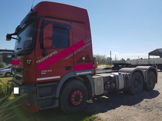 Mercedes Benz Actros2646 S/36 6x4 2012 El Mas Buscado!!!!!!