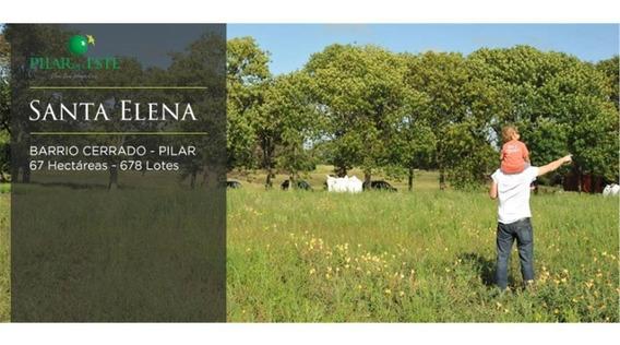 Excelente Lote Santa Elena, Pilar Del Este