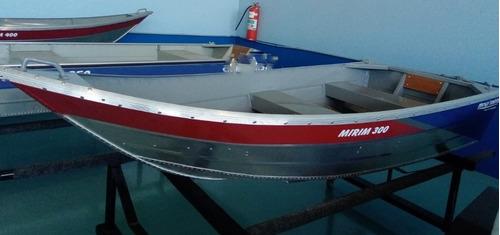 Barco De Alumínio Mirim300 - 3m - 2020 -novo - Duralumínio
