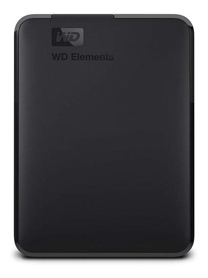 Disco duro externo Western Digital Elements Portable WDBU6Y0040BBK 4TB