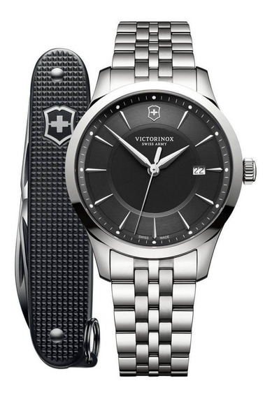 Relógio Victorinox Alliance Com Canivete Pioner Alox