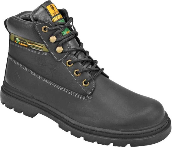 Bota Adventure Usually Antares Couro Albarus 8700 Preto