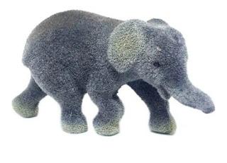 Elefante Pequeño Bebe Animales Felpa Selva Safari Deco Torta