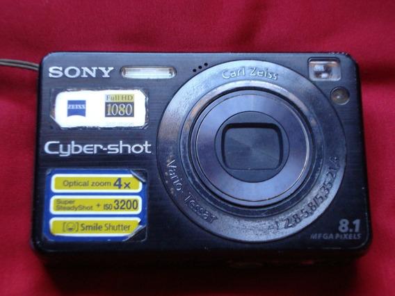 Máquina Fotográfica Sony Dsc W130 (favor Ler A Descrição)