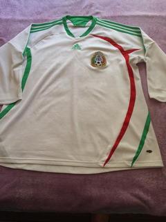 Camisa Do México - Tam Gg - Original adidas - Manga 3/4.