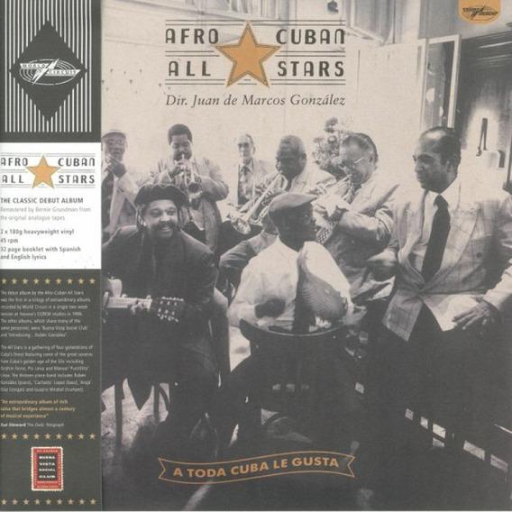 Afro-cuban All Stars A Toda Cuba Le Gusta Vinilo Doble 180 G