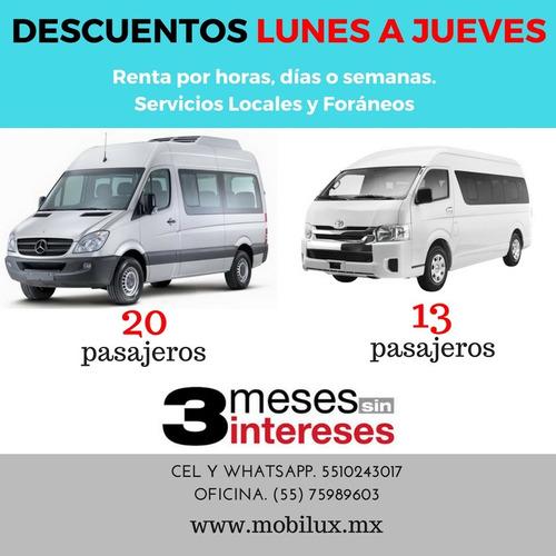 Imagen 1 de 11 de Renta De Camionetas Ejecutivas, Familiares Y De Bajo Costo