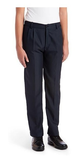 Pantalones Azul Marino Escolar Resorte Talla De 14 A La 16