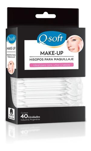 Imagen 1 de 6 de Hisopos Para Maquillaje Q-soft (24 Paquetes)