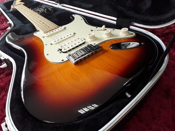 Fender American Deluxe Stratohss Case Orig Troca Fractal Ax8