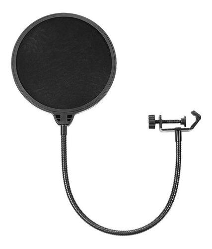 Filtro Pop Con Soporte Flexible Para Micrófono Profesional